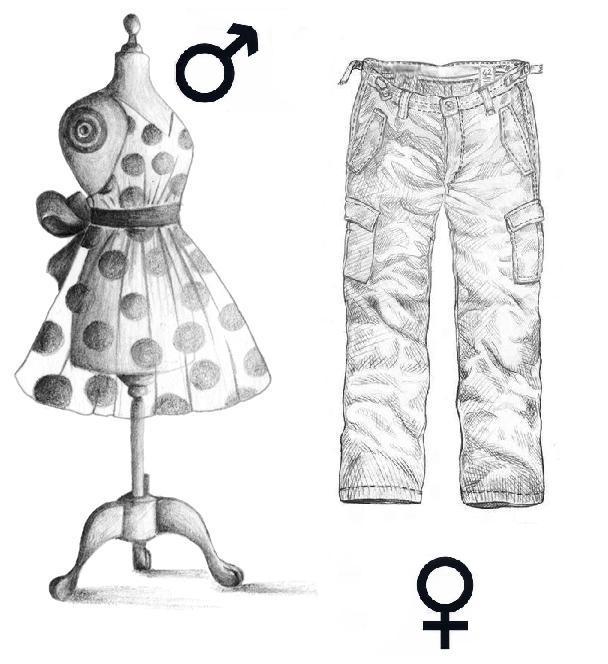 9. SOCIETE - Les filles en jupe, les garçons en pantalon