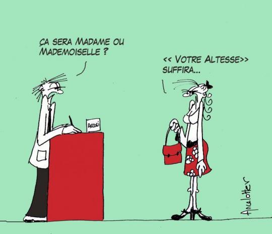 Mademoiselle Madame