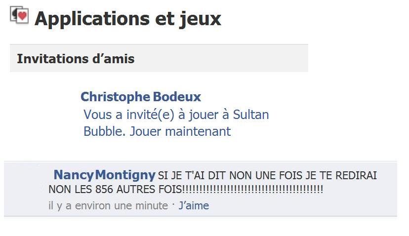 Boulets Facebook