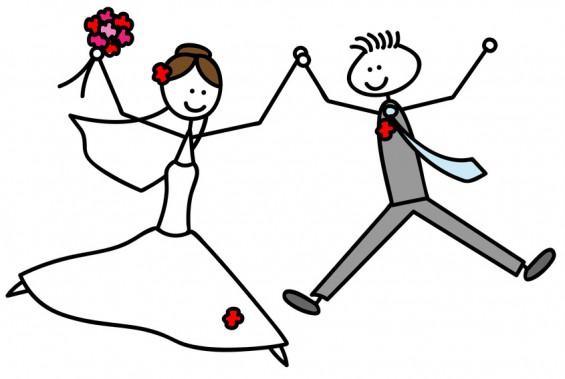 Célibataire à une fête de mariage